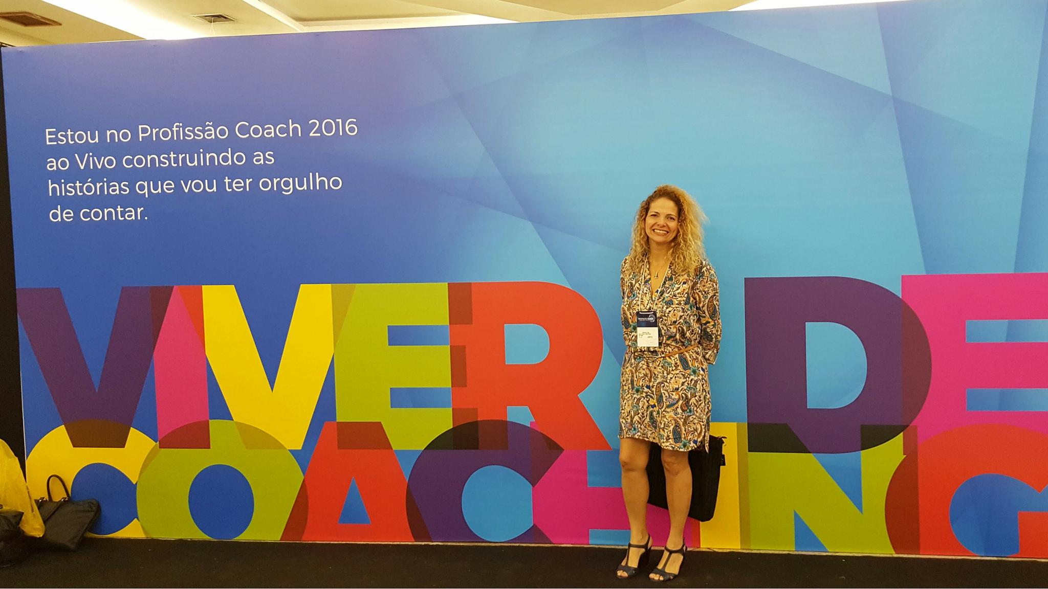 Patrícia Pedrozo em Profissão Coach 2016
