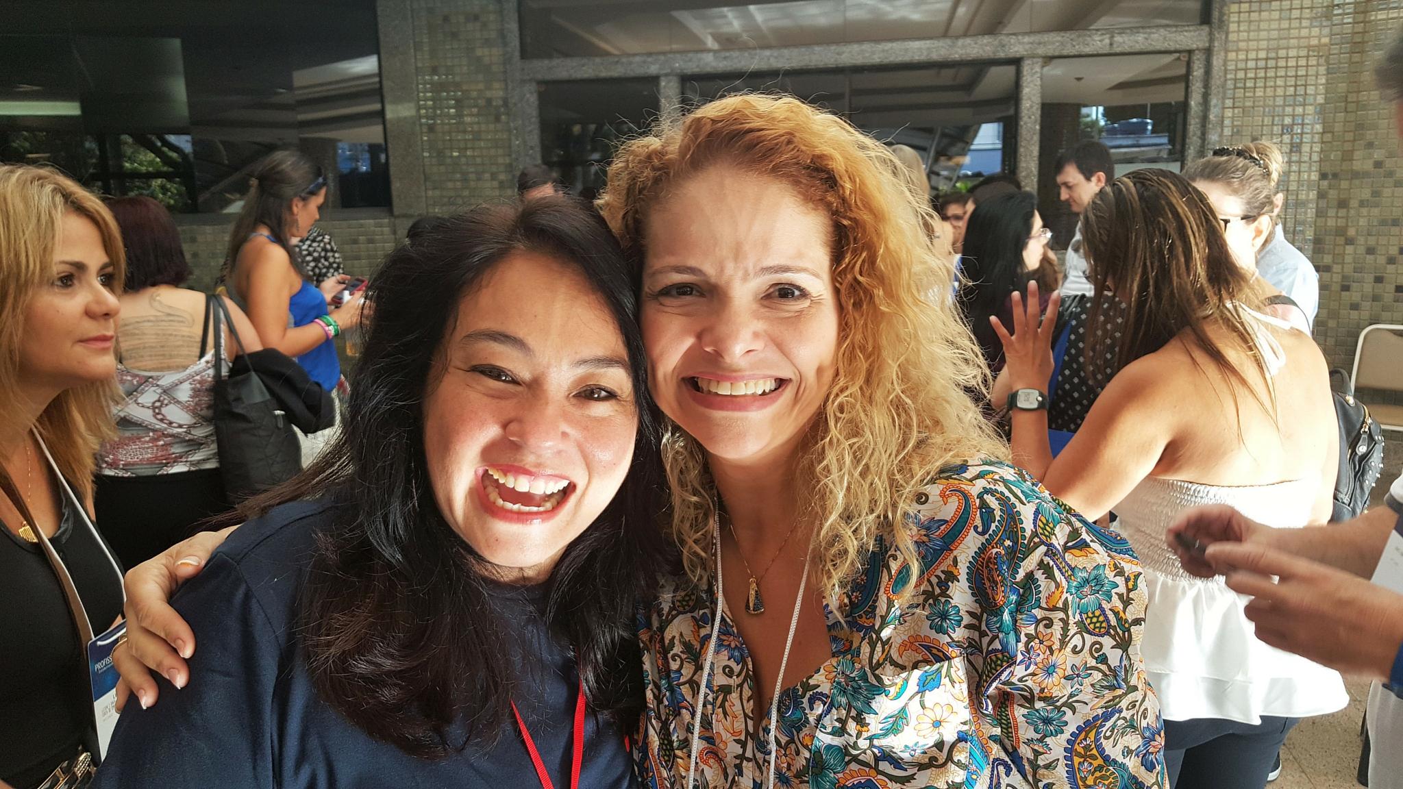 Patrícia Pedrozo com Alessandra Yoshida no Profissão Coach