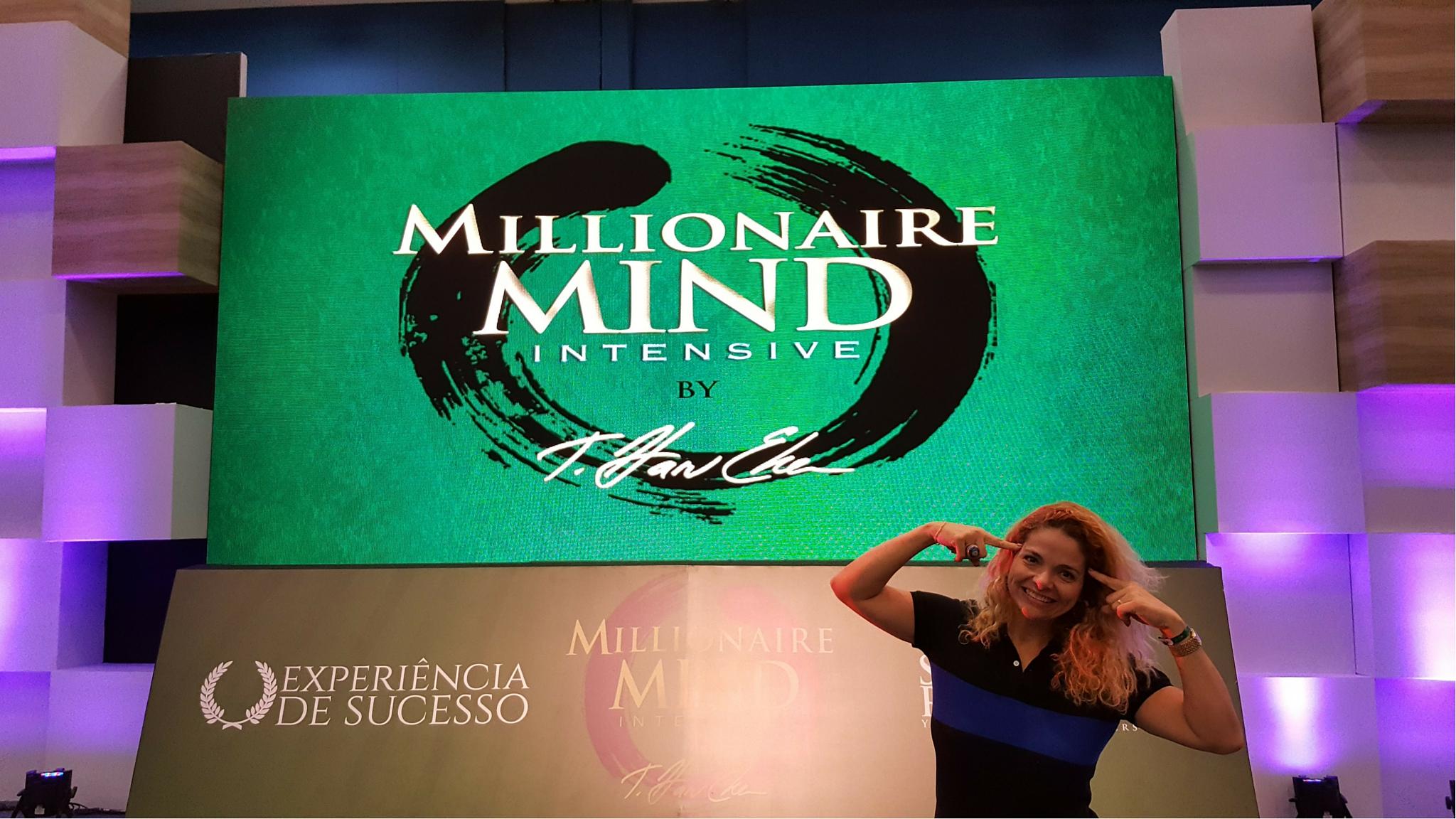 Patrícia Pedrozo no Millionaire Mind Intensive 2016