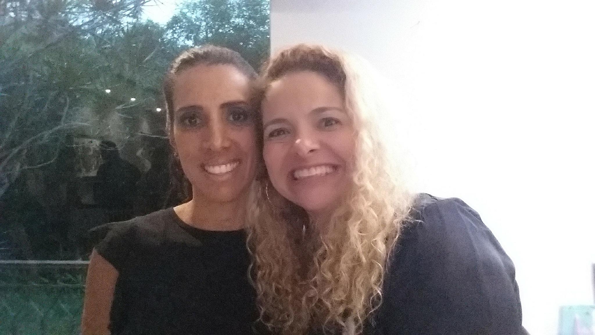 Patrícia Pedrozo com Paula Abreu em Mentoria