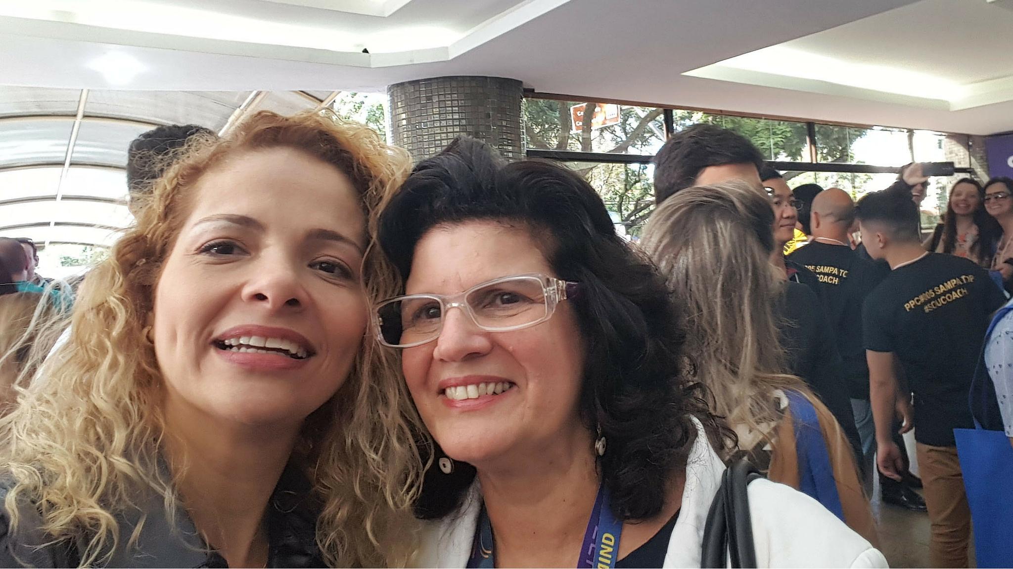 Patrícia Pedrozo com Marcia Belmiro no Profissão Coach